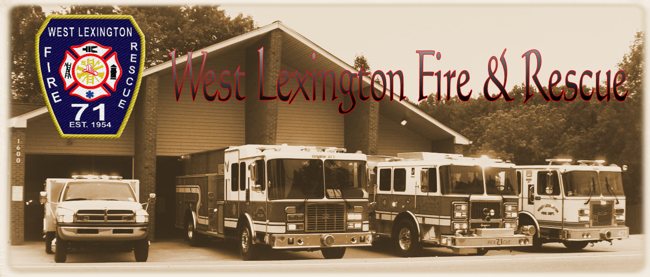 West Lexington Fire & Rescue Logo