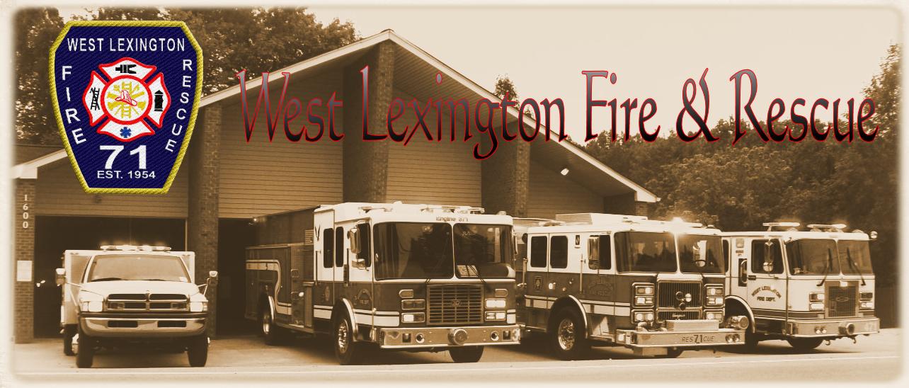 West Lexington Fire & Rescue Logo
